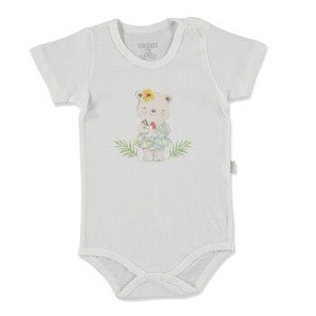 Ebebek Bebbek verano bebé niña Tropical Supremo Crew-Neck body