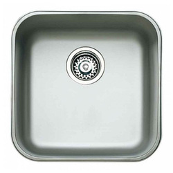 Sink with One Basin Teka Stainless steel