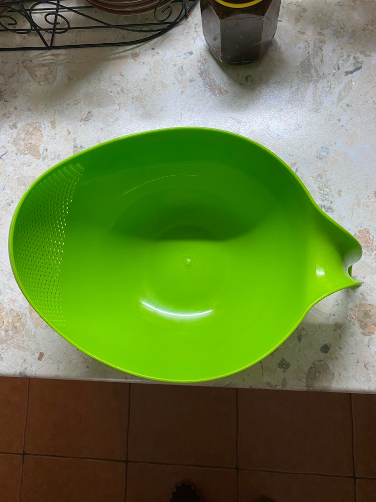 Kitchen Cleaning Plastic Cookware Colander photo review