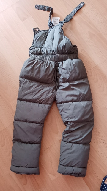 Children winter warm overalls girls & boys winter thick pants cotton filling kids overalls for girls 1-5 years children jumpsuit photo review