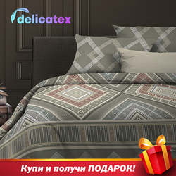 Bedding Set Delicatex 6508-2Ankara Home Textile Bed sheets linen Cushion Covers Duvet Cover Рillowcase