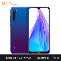 Xiaomi Redmi Note 8T Smartphone(4GB RAM 64GB ROM NFC Free mobile phone New android 4000mAh battery) [Global Version] 4