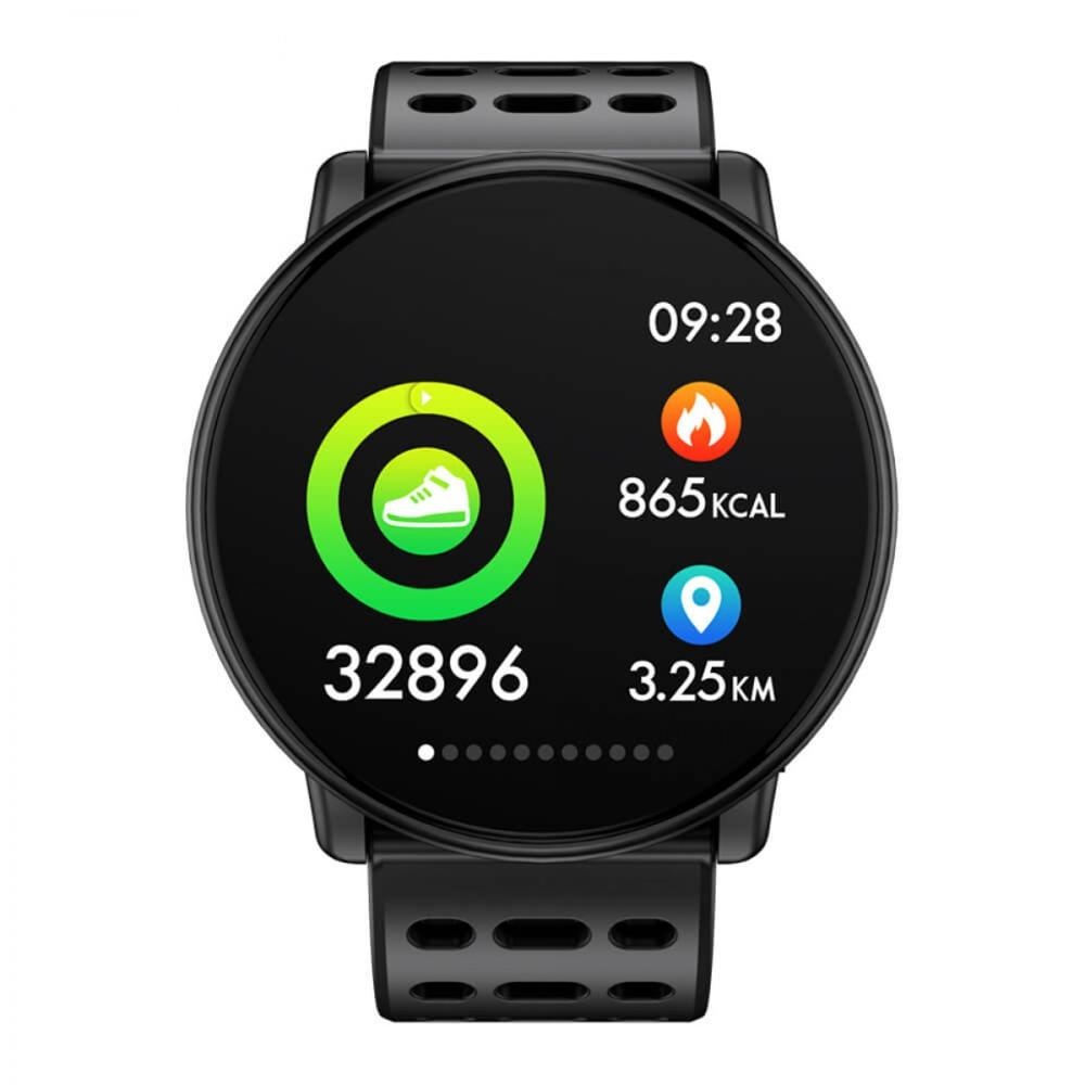 [second hand] Smartwatch Waterproof Smart Watch IP67 Sports Round with Heart Rate Monitor Silicone Activity Bracelet