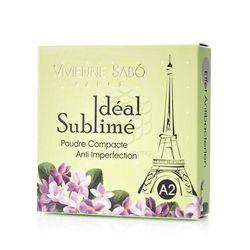 Компактная пудра Vivienne Sabo Ideal Sublime против изъянов кожи А2 Нейтральный телесный 11г
