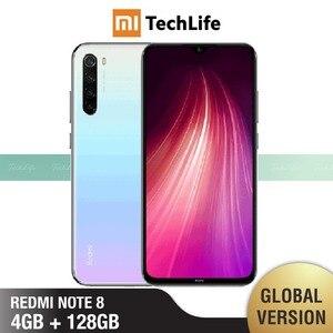Image 2 - Versión Global Xiaomi Redmi Note 8 128GB ROM 4GB RAM (Nuevo / Sellado) note 8, note8 Teléfono Móvil