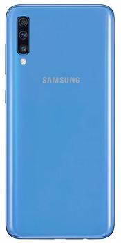 Перейти на Алиэкспресс и купить Samsung Galaxy A70 (128gb, Dual-SIM, pantalla de 6.7 дюйм Full HD + Dynamic AMOLED, 4500 MaH), color azul [Versión española]