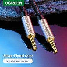 Ugreen 3.5 Jack Audio Kabel Jack 3.5 Mm Auto Aux Kabel Voor Ipod Huawei P20 Lite Hoofdtelefoon Luidspreker MP3 3.5mm Jack Aux Cord Kabel