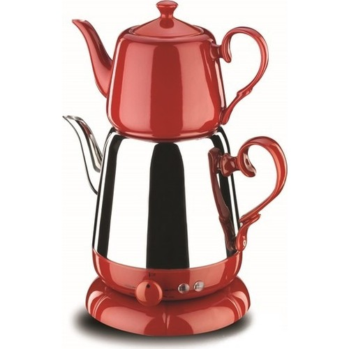 Korkmaz A339-03 Nosta Electric Tea Pot | Turkish Tea | Tea Machine | Water Heater | Teapot | Hot Tea