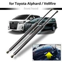 Für Toyota Alphard/Vellfire 30 serie 2015 2019 2x Front Hood Bonnet Ändern Gas Streben Lift Unterstützung Schock dampermper-in Domstreben aus Kraftfahrzeuge und Motorräder bei