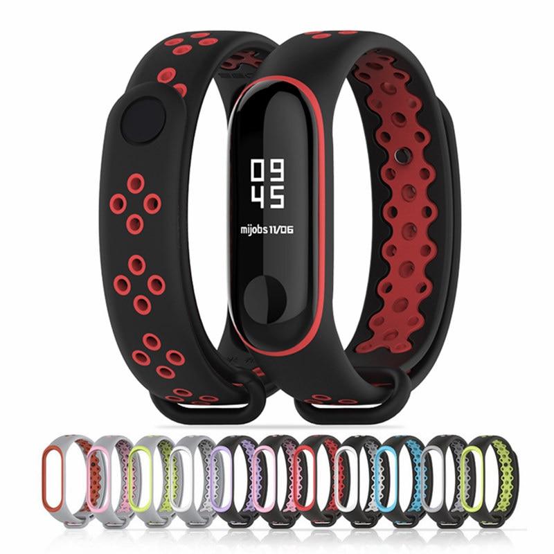 Bracelet Watch Strap For Xiaomi Mi Band 4 Watch Smart Watch Sport Wristband Strap Watch Silicone Strap For Xiaomi Mi Band 3