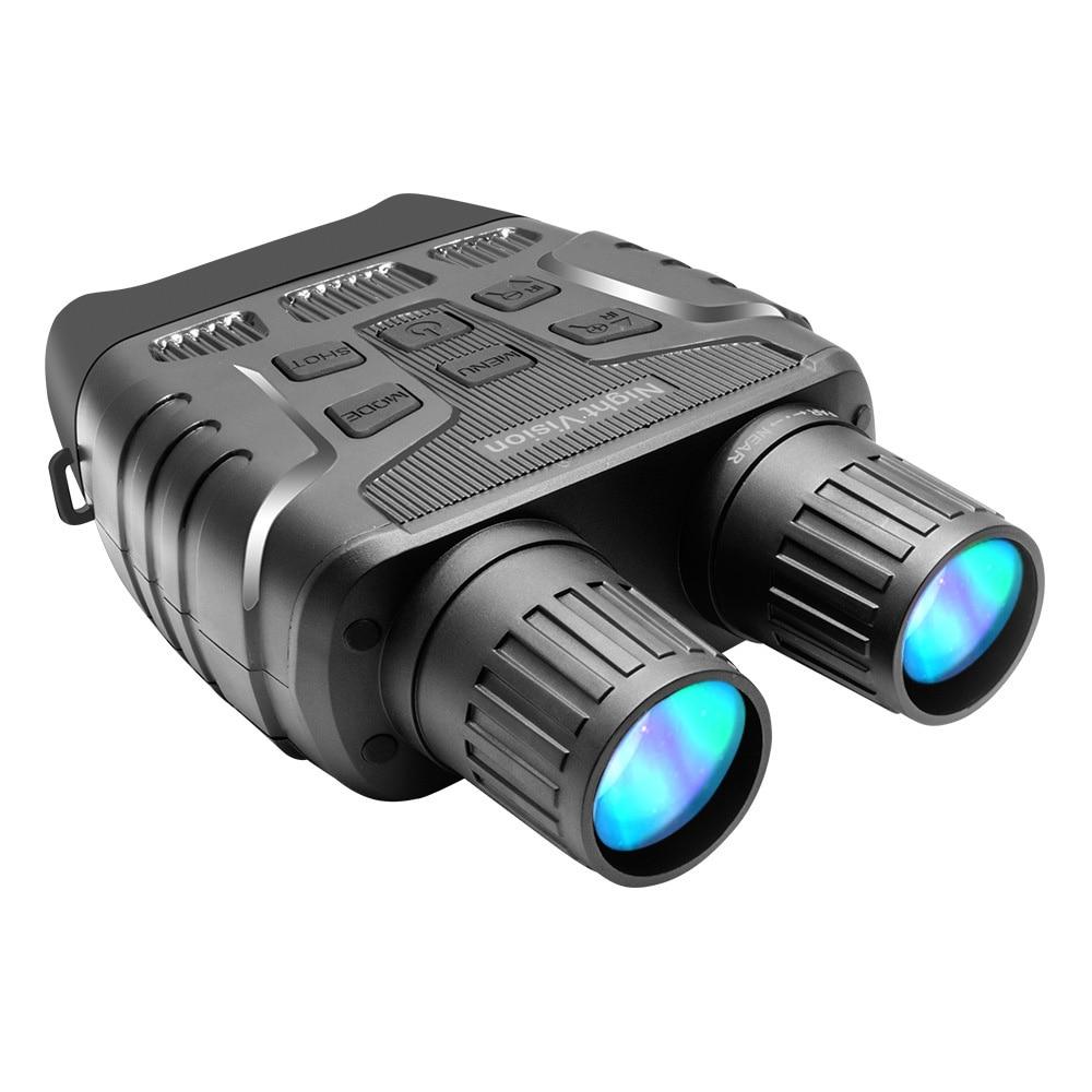 Цифровой бинокль ночного видения, инфракрасный 300 м HD охотничий ИК телескоп с 4-кратным увеличением, оптика, экран 2,3 дюйма, фотоловушка, запи...