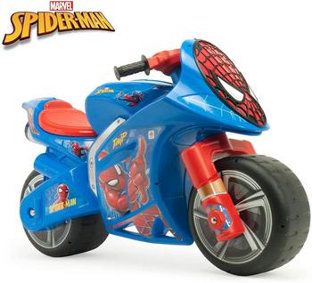 INJUSA-children's bike, running corridors Wind Spiderman XL for children + 3 years with wide wheels and carrying handle, plastic недорого