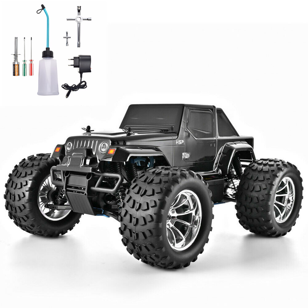 HSP RC Truck 1:10 Scale Nitro Gas Power Hobby Car Two Speed Off Road Truck 94188 4wd High Speed Hobby Remote Control