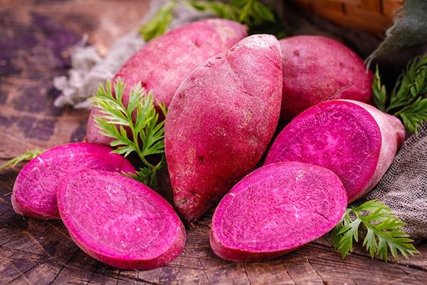 紫红薯的营养成分及作用与功效-养生法典