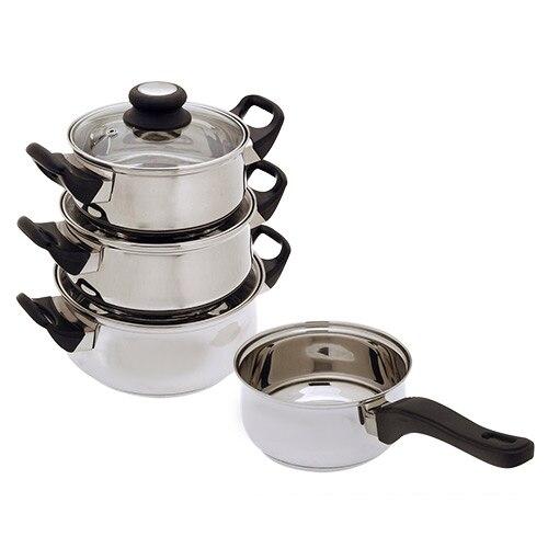 Посуда из нержавеющей стали (7 шт.) - 2