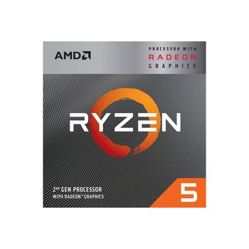 AMD RYZEN 5 3400G 3.70GHZ 6MB AM4 PROCESSOR 1