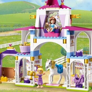 Конструктор LEGO Disney Princess Королевская конюшня Белль и Рапунцель 4