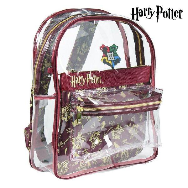 School Bag Harry Potter 72902 Transparent Maroon