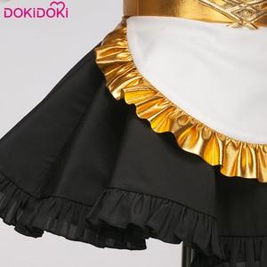 Image 4 - DokiDoki juego Fate gran orden uniforme de sirvienta Ishtar Cosplay disfraz FGO chicas lindo vestido mujeres Halloween disfraz