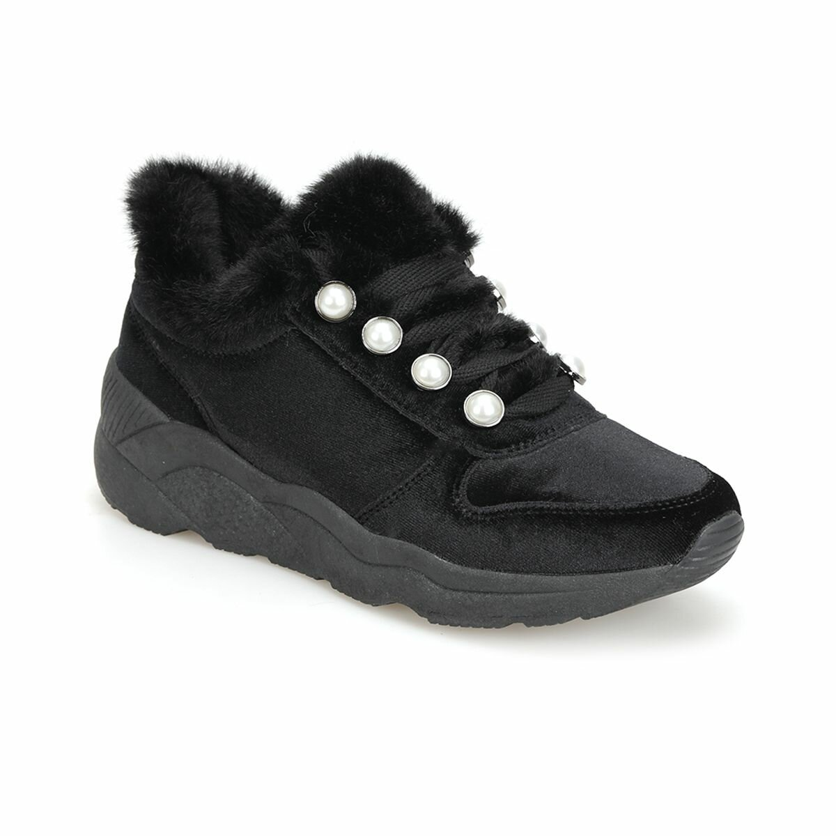FLO 18K-332 Black Women 'S Sneaker Shoes BUTIGO