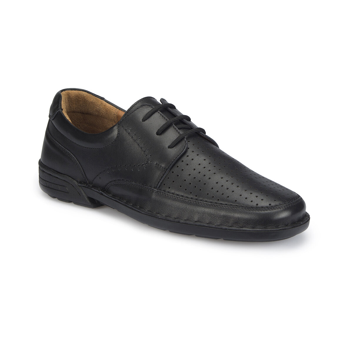 FLO 81. 110452.M Black Men 'S Classic Shoes Polaris 5 Point