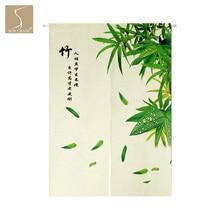 SewCrane бамбуковые китайские символы японский Дом Ресторан занавес двери Норен Дверной проем перегородка