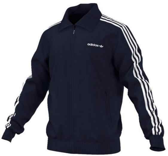 Adidas Beckenbauer TT Jacket man Blue AJ6952