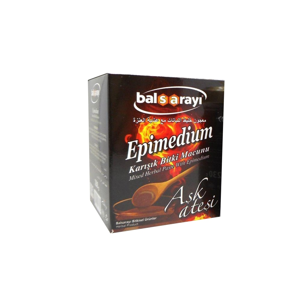 Super Epimedium Herbal Mixture Paste for Men & Women Turkısh Epimedium Paste Horny Goat Grass, Ginseng Herbal Aphrodisiac 1