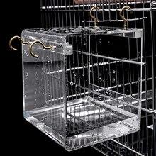 Горячая Распродажа Классическая птичья ванночка для птиц в клетке вольерные птицы буджи Lovebirds Finches канарецы птичьи банные домики для домашнего питомца продукт