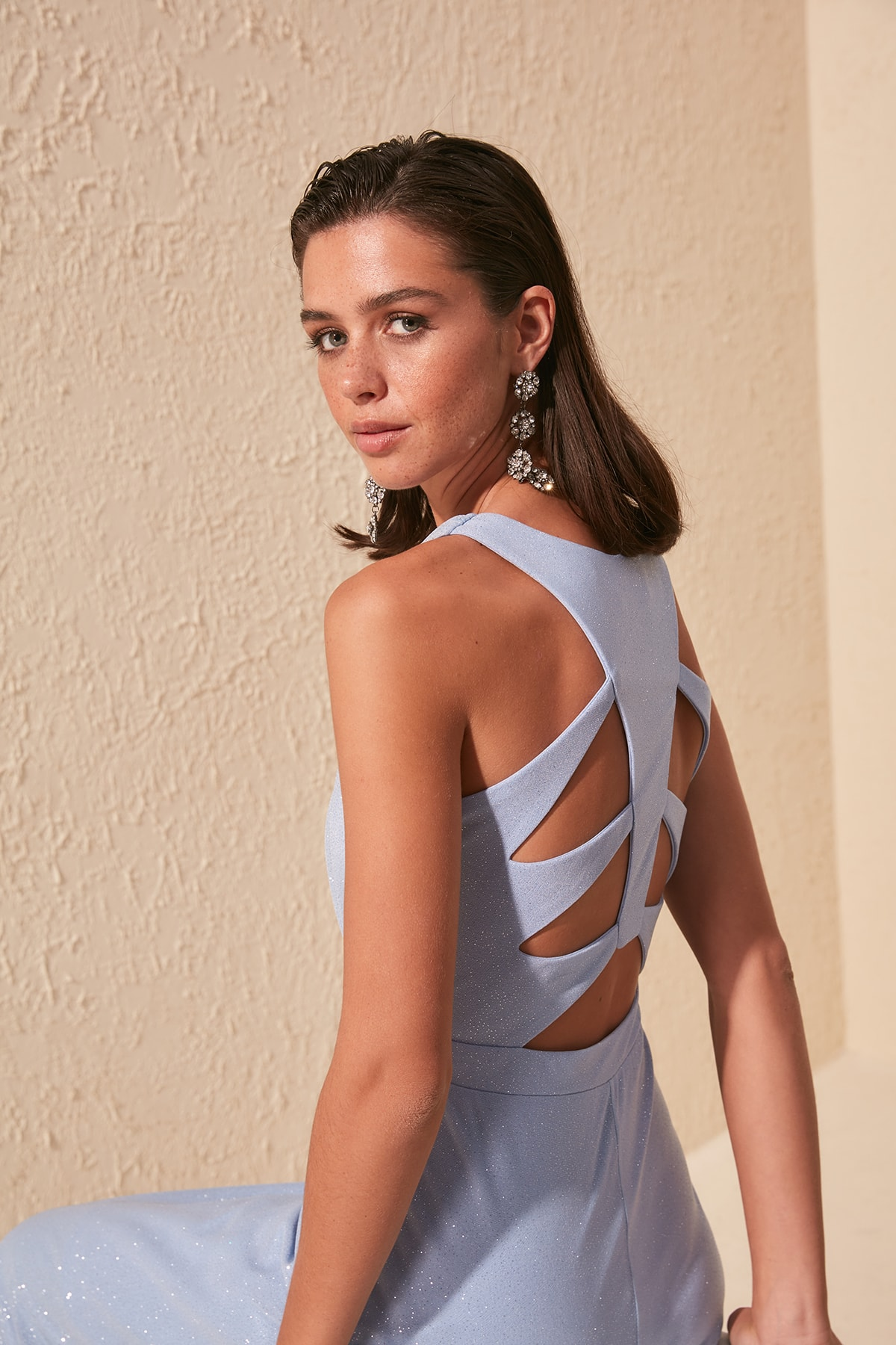 Trendyol Luminous Evening & Prom Gown TPRSS20AE0064