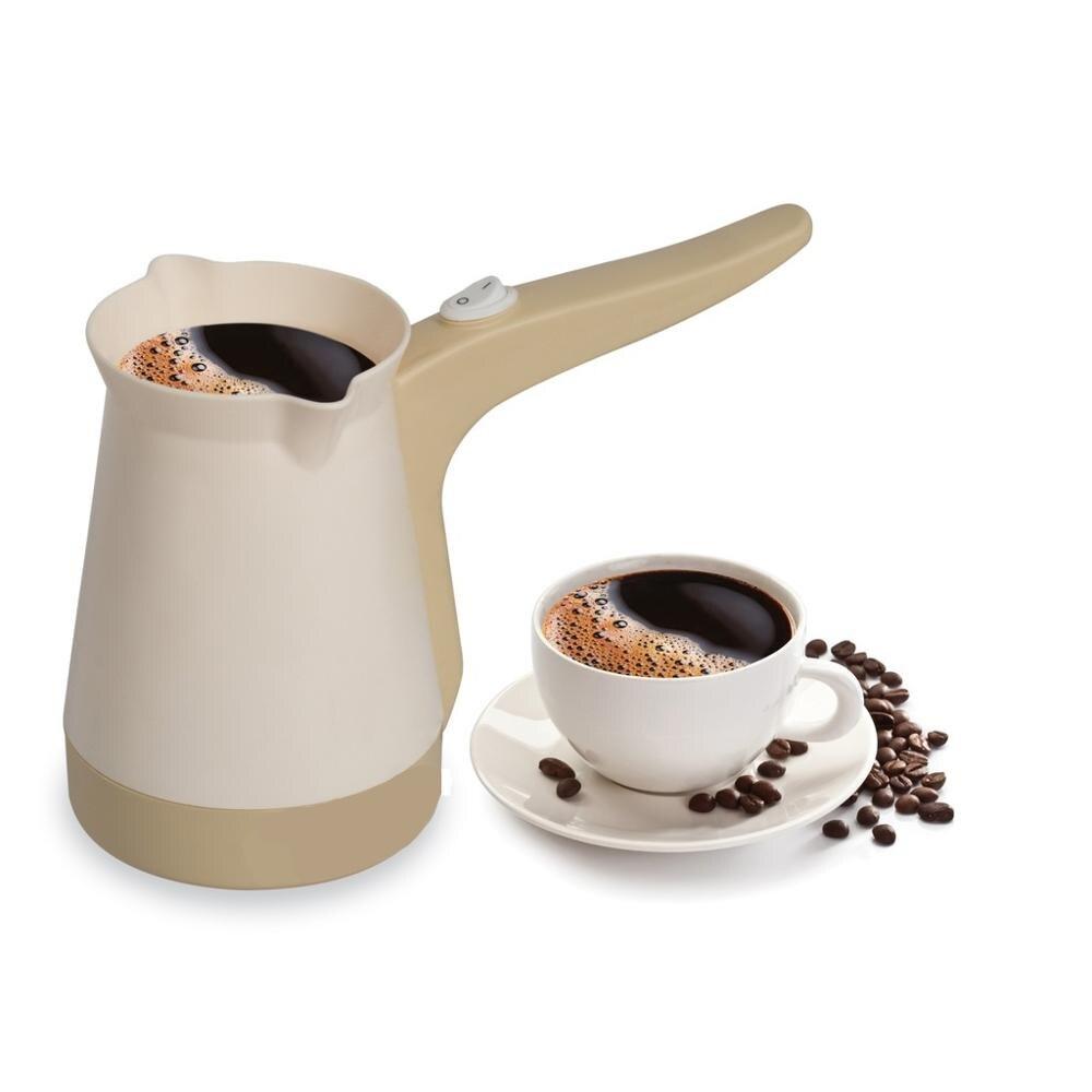 Keyif Electric Coffee Machine   Red Or  Beige