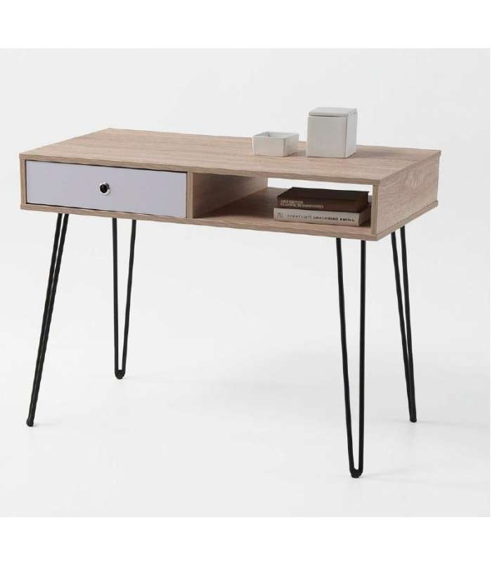 Desk Table Kala 1 Hollow + 1 Drawer.