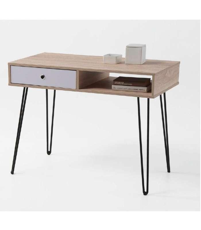 Desk Table Kala 1 Hollow + 1 Drawer.