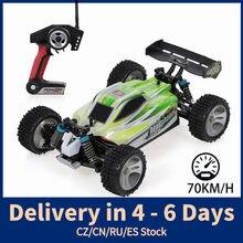 WLtoys A959-B A959-A 1:18 2.4GHz 4WD RC samochód 70 KM/H zdalnie sterowane auto wyścigowe elektryczny pilot pojazd samochód terenowy zabawki
