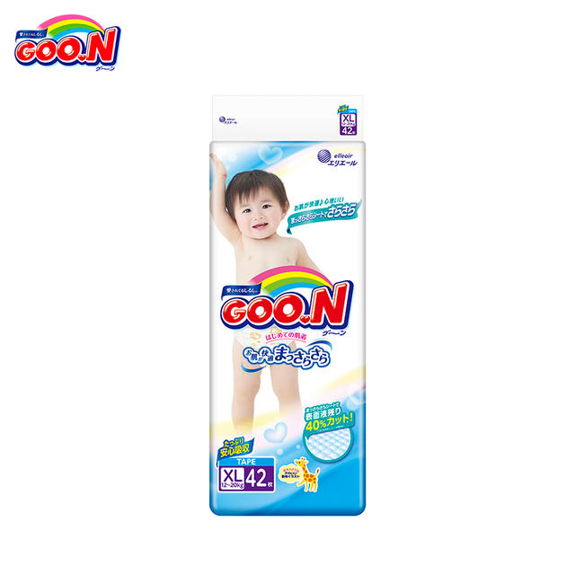 Подгузники GOON Boys and Girls 12-20 кг (42 шт.) XL