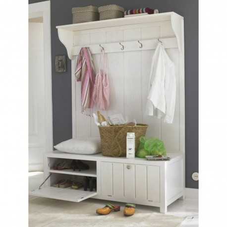 Hall Cabinet Coat Rack Shoe Rack