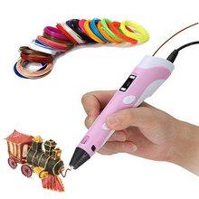 3D ручка, 3D принтер, Профессиональная 3D ручка, расходники пластик для 3D ручки
