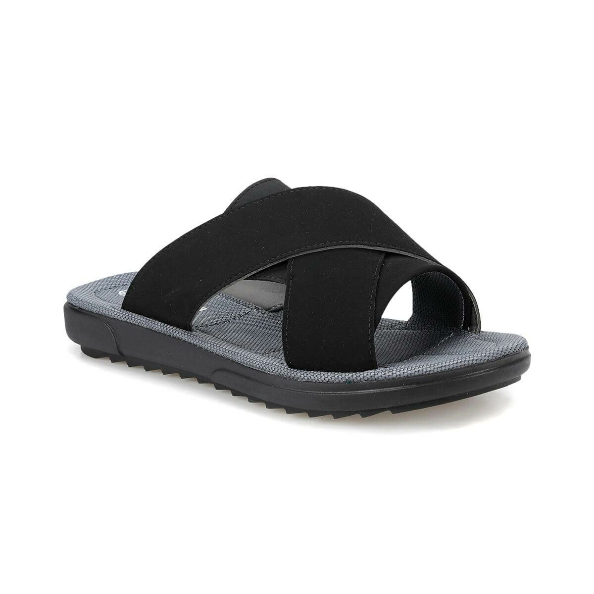 FLO CMPR-1 Black Male Slippers Panama Club