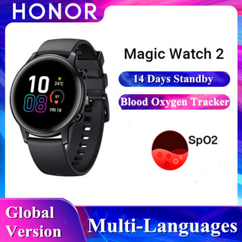 Honor Magic Watch 2 Global Version GPS 14 Days Smart Watch Android Phone Call Sports Watch Heart Rate Monitor Smart Watch