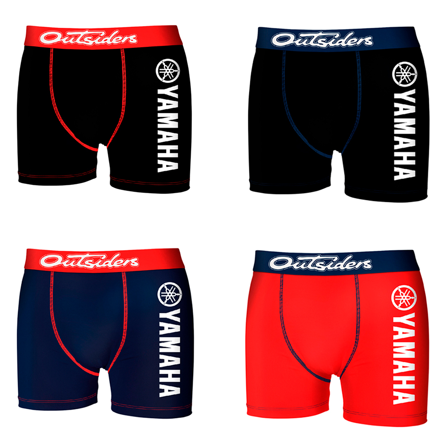 YAMAHA Boxers Type Boxer Pack 4,8 Or Single In Various Colour To Choose For Men
