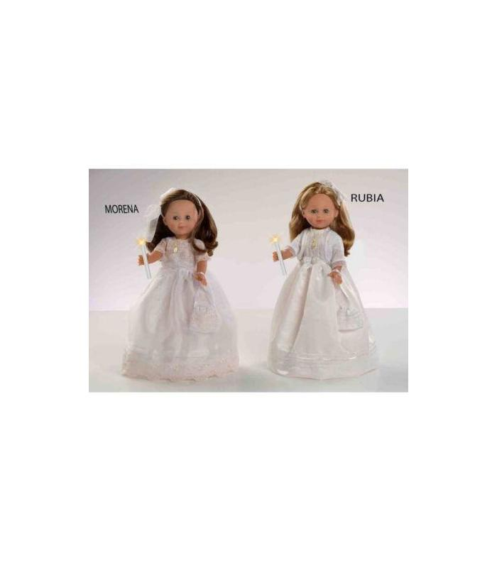 Communion Doll 42cm Brunette With Mecani Toy Store Articles Created Handbook
