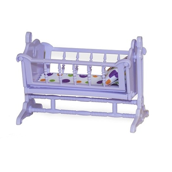 the dolls house Doll House Accessories OGONEK  The cradle \Confetti\ for children toys for kids game furniture dolls doll houses furniture for doll houses bed for dolls accessories
