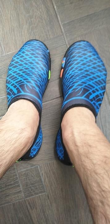 Sapatos de natação sapatos sapatos sapatos
