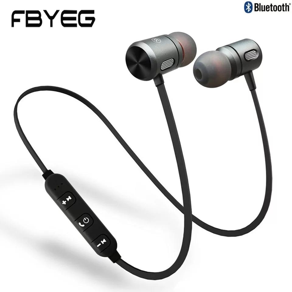 FBYEG C10 Magnetic Bluetooth Earphone Waterproof Wireless Headphones Sport Bluetooth Headset Earpiece with Microphone for phone|Phone Earphones & Headphones|   - AliExpress