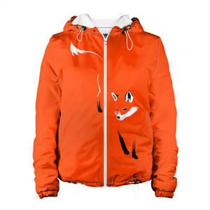 Женская куртка 3D Лисица