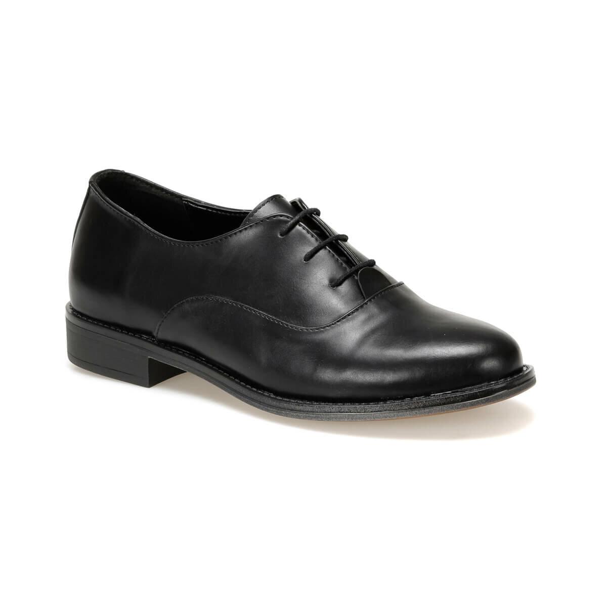 FLO DW19074 Black Women Oxford Shoes Miss F