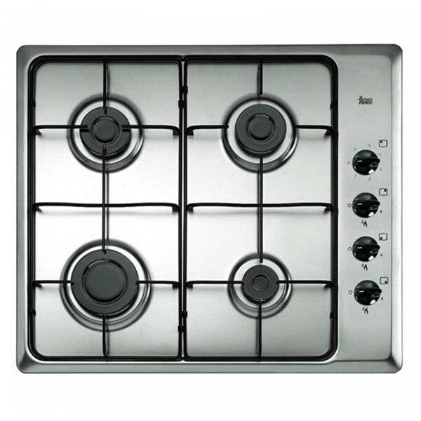 Gas Hob Teka HLX60 4G 60 Cm 60 Cm Stainless Steel Black (4 Stoves)