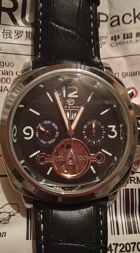 -- Relógios Relógios Forsining
