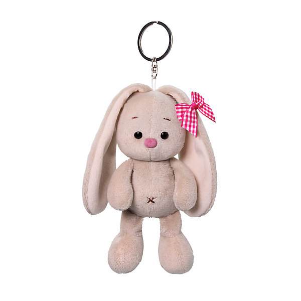 Keychain Budi Basa Bunny With A Pink Bow 14 Cm