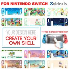 Hard Dockable Protective Shell For NIntendo Switch Custom Made Gaming Anime Creative Cases Images